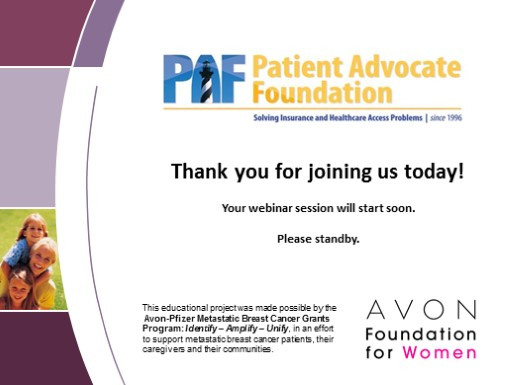 For Providers:  Empowering your Metastatic Breast Cancer Patients