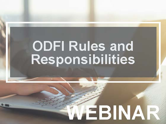 ODFI Rules and Responsibilities