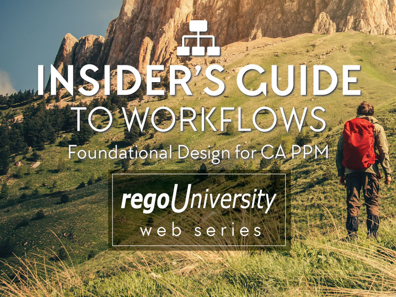 regoUniversity | Insider's Guide to Workflows