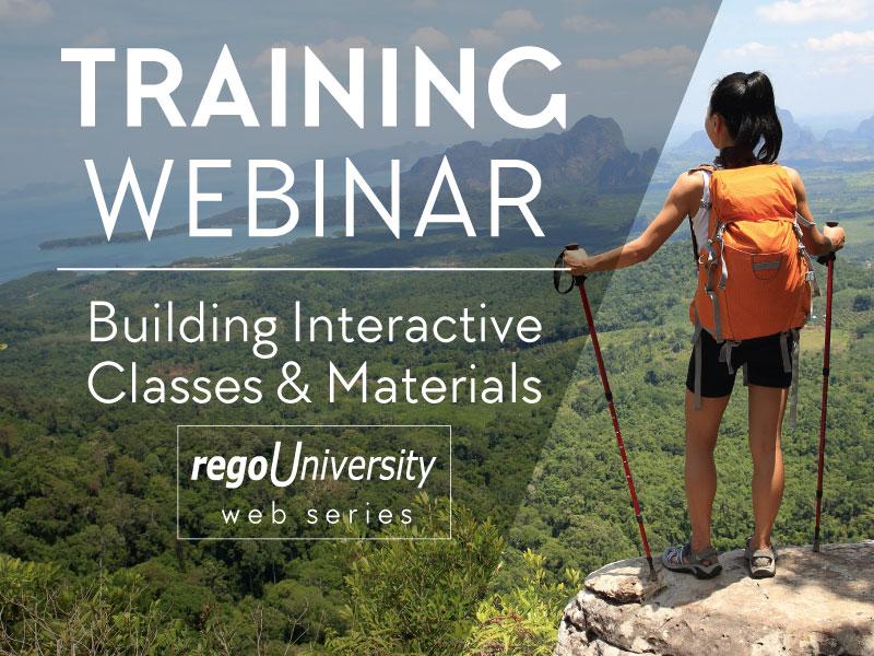 regoUniversity | Training Webinar