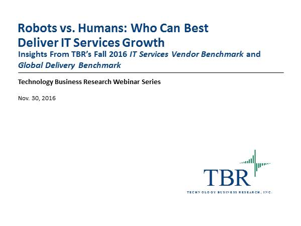 Robots vs. Humans: Who Can Best Deliver IT Services Growth?