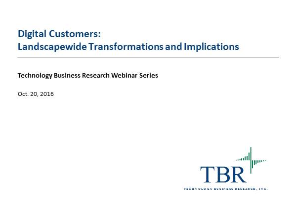 Digital Customers: Landscapewide Transformations and Implications