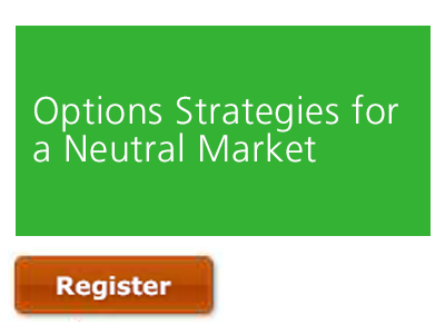 Options Strategies for a Neutral Market