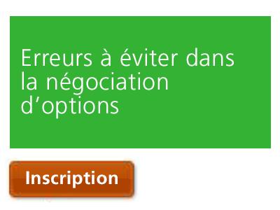 Erreurs à éviter dans la négociation d'options