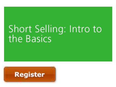 Short Selling | An Introduction to the Basics