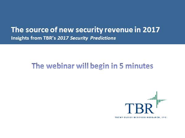 The source of new security revenue in 2017