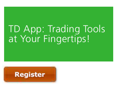 TD App | Powerful Trading Tools at Your Fingertips!