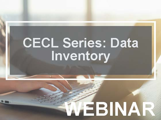 CECL Series: Data Inventory