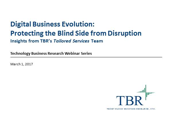 Digital business evolution: Protecting the blind side from disruption