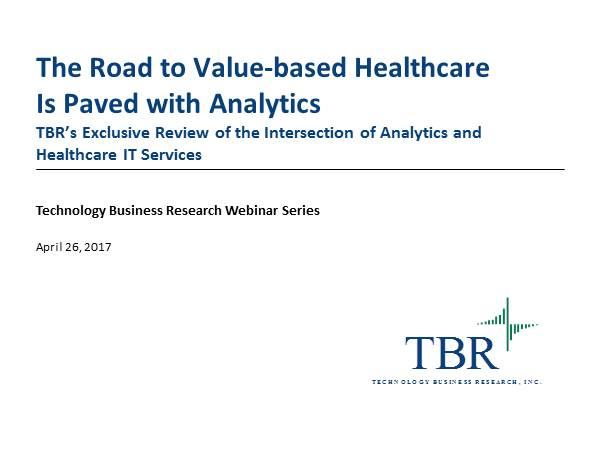 The road to value-based healthcare is paved with analytics