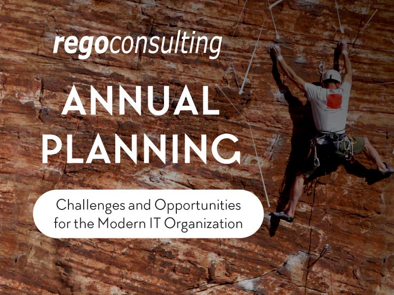 Annual Planning: Challenges and Opportunities for the Modern IT Organization