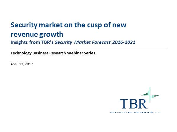 The security market is on the cusp of new revenue growth