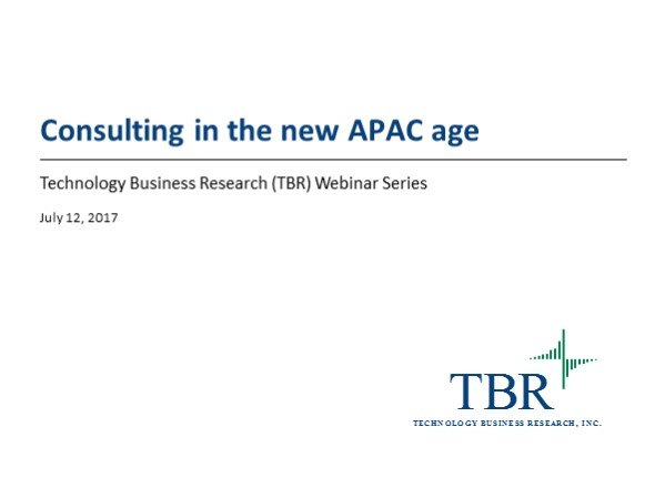 Consulting in the new APAC age