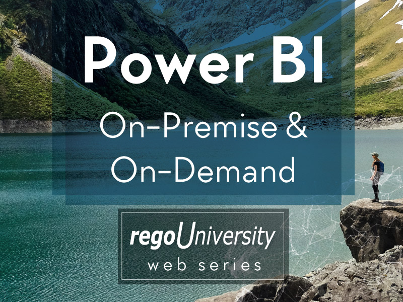 Power BI On-Premise and On-Demand (2-Part Webinar)