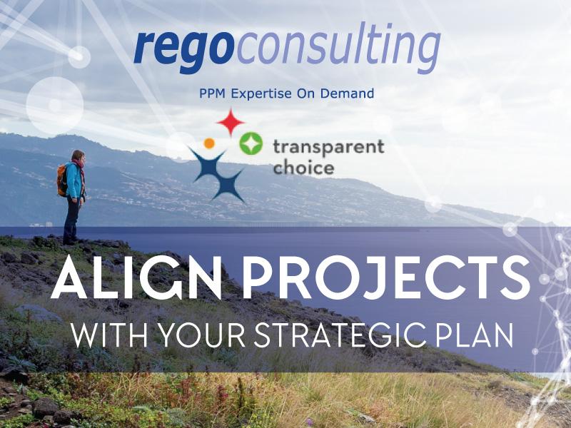 Rego Partner Spotlight: TransparentChoice for Strategic Prioritization in CA PPM