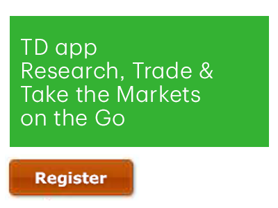 TD App: Research, Invest & Take the Markets On the Go