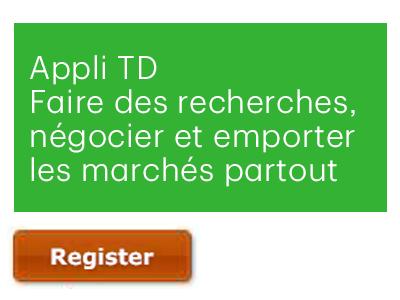 Appli TD : Faire des recherches, négocier et emporter les marchés partout
