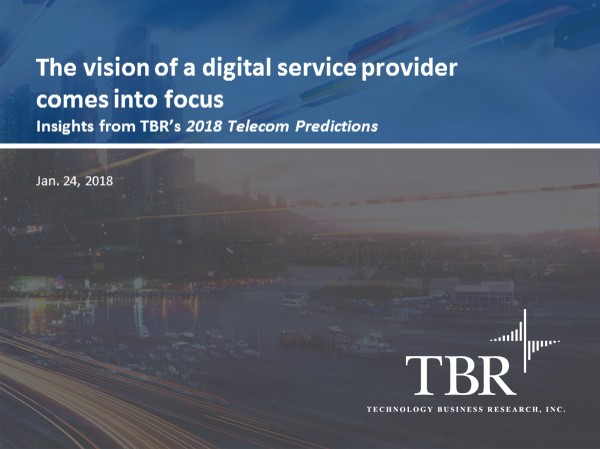 The vision of a digital service provider comes into focus