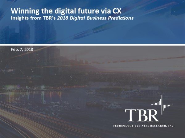 Winning the digital future via CX