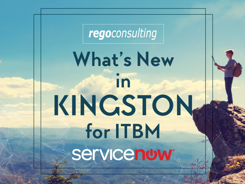 What's New in Kingston for ITBM