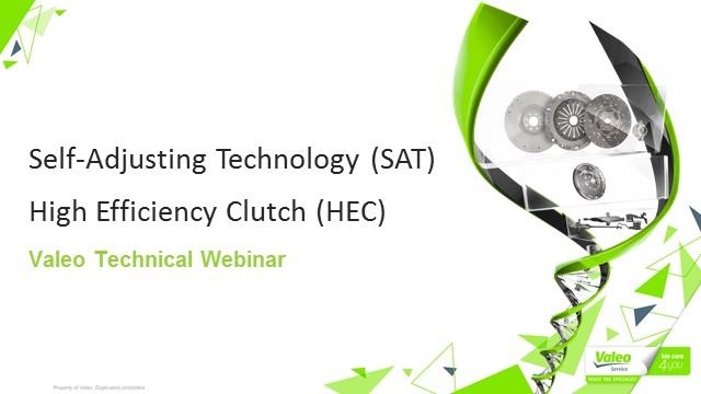 Self-Adjusting Clutch Technology vs Valeo High Efficiency Clutch Technology