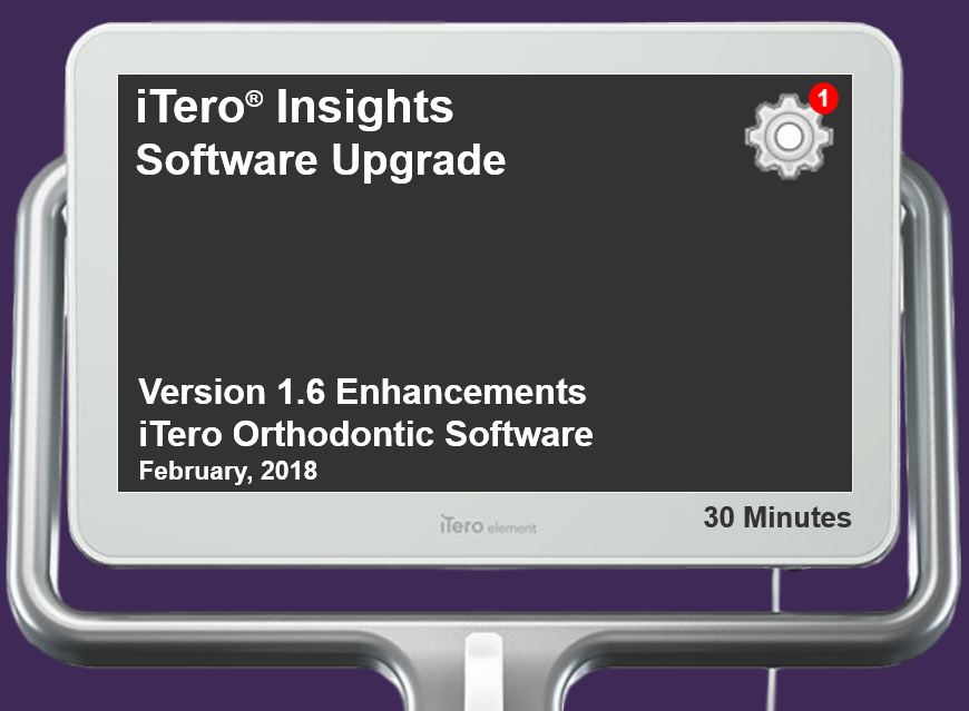 iTero Element® Intraoral Scanner Orthodontic Software Enhancements