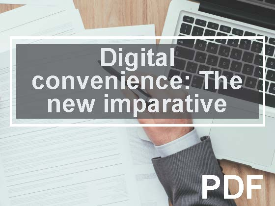 Digital convenience:The new imperative to compete for new members