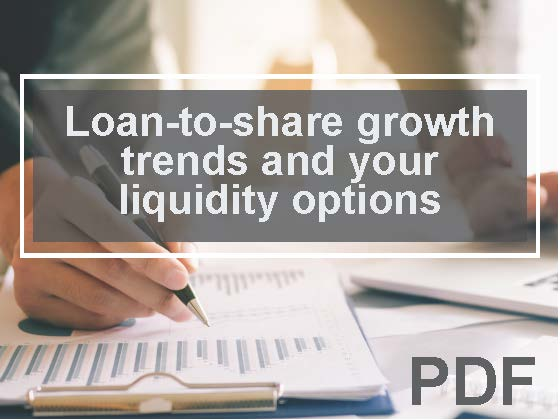 Loan-to-share growth trends and your liquidity options