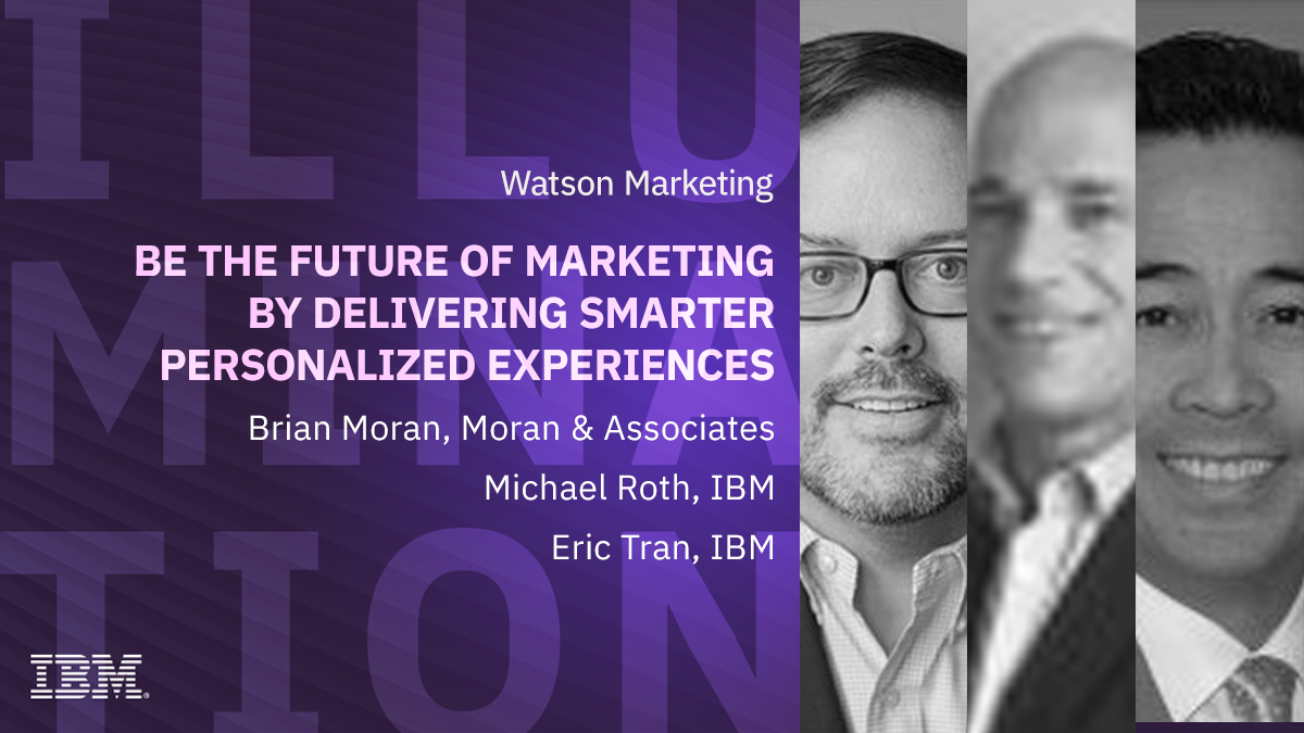 Be the future of Marketing by delivering smarter personalized experiences