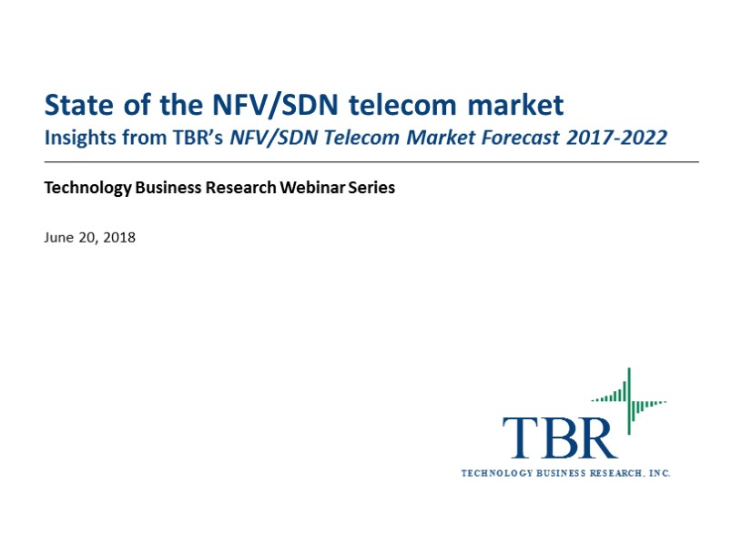 State of the NFV/SDN telecom market