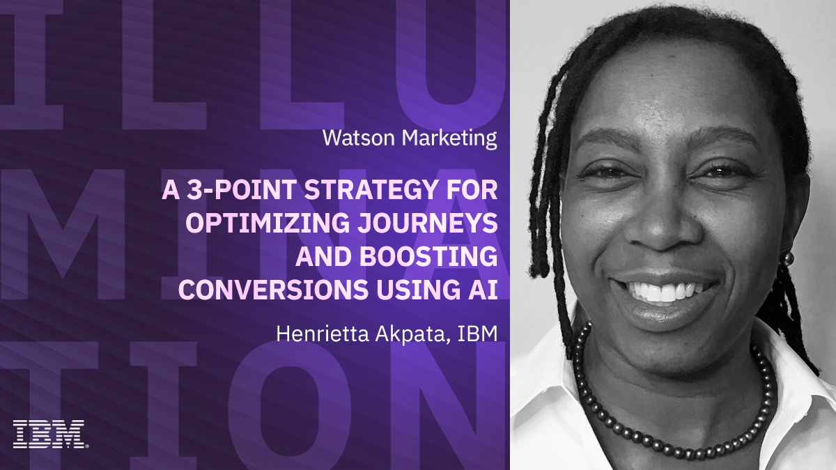 A 3-point strategy for optimizing journeys and boosting conversions using AI