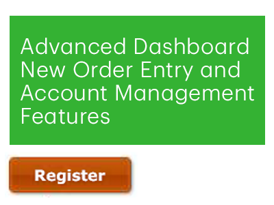 Advanced Dashboard | New Order Entry and Account Management Features