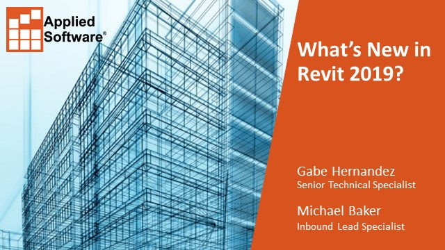 What's New in Revit 2019?