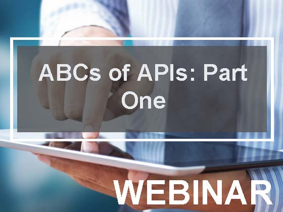 ABCs of APIs: Part one