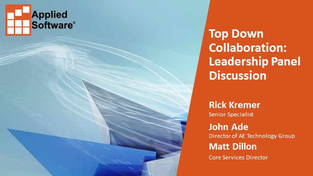 Top Down Collaboration: Leadership Panel Discussion