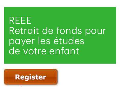 REEE | Retrait de fonds pour payer les études de votre enfant