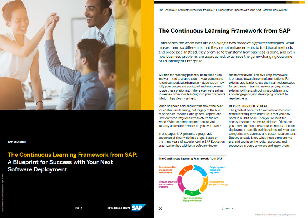 White Paper: The Continuous Learning Framework from SAP