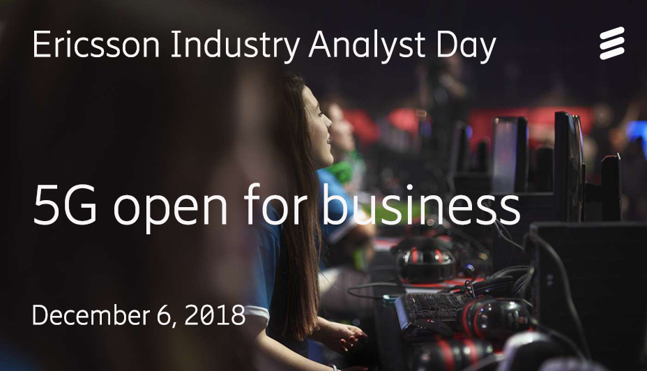 Ericsson Virtual Industry Analyst Day