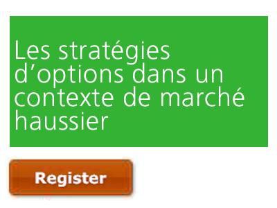 Les stratégies d'options dans un contexte de marché haussier