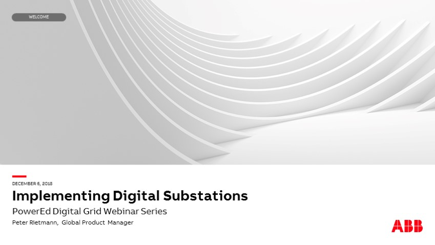 Implementing digital substations 101: How to get started