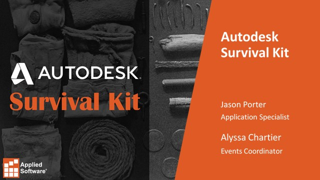 Applied Software's Autodesk Survival Kit