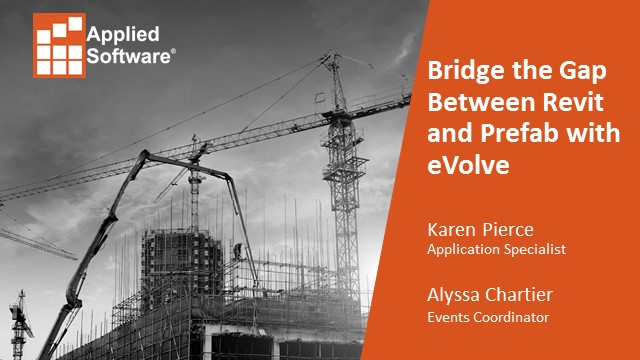 Bridge the Gap Between Revit and Prefab with eVolve