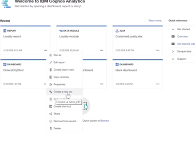 Exploring the all new Cognos Analytics 11.1