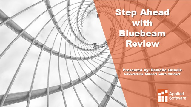 A Step Ahead with Bluebeam Revu