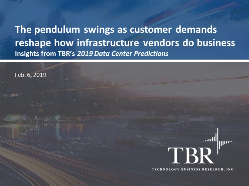 The pendulum swings: Customer demands reshape how infrastructure vendors do business