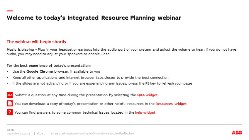 Integrated Resource Planning: How do we handle distribution?