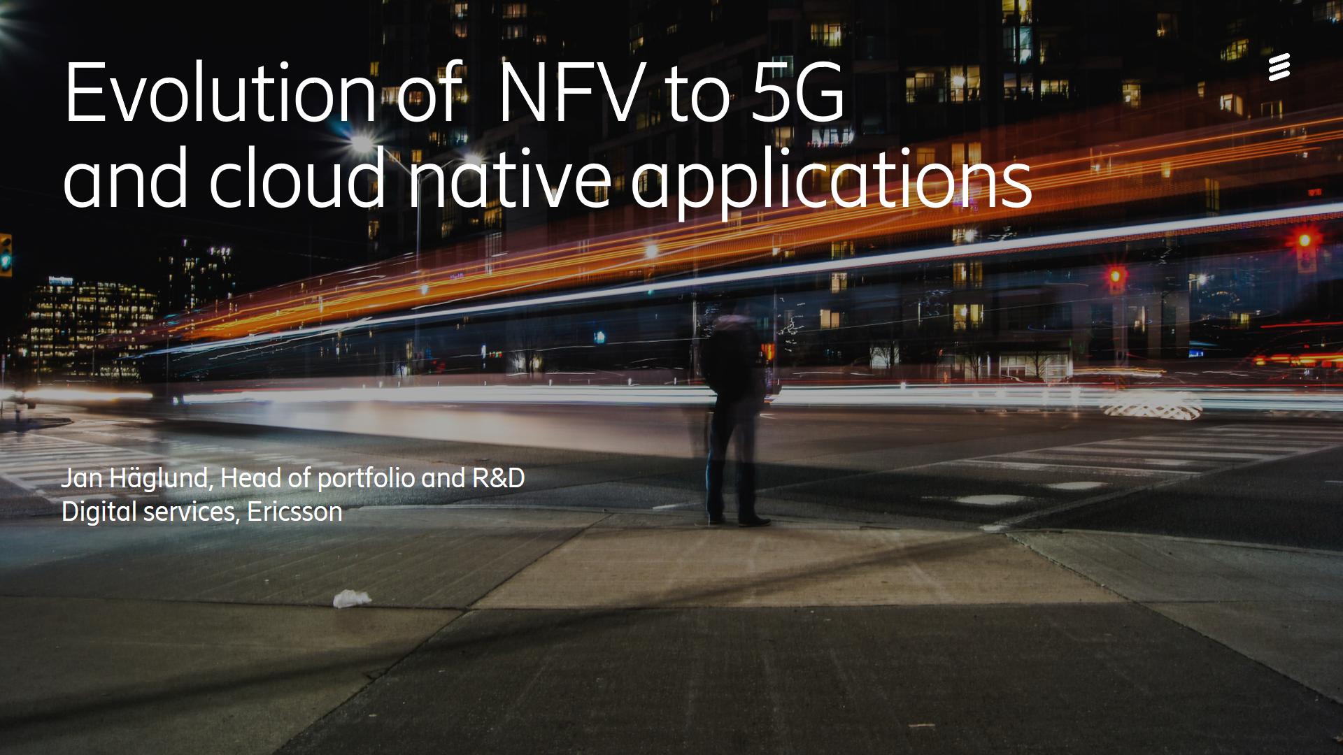 Evolution of NFVi for cloud native applications