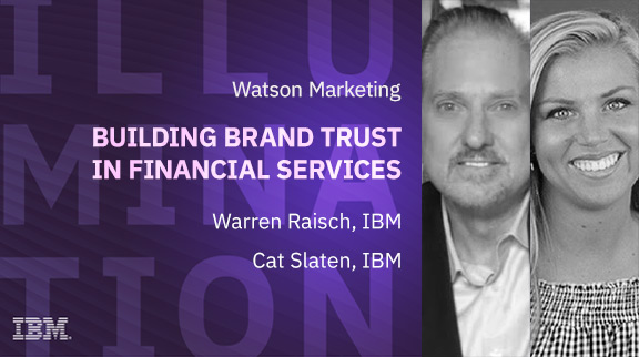 Building brand trust in financial services