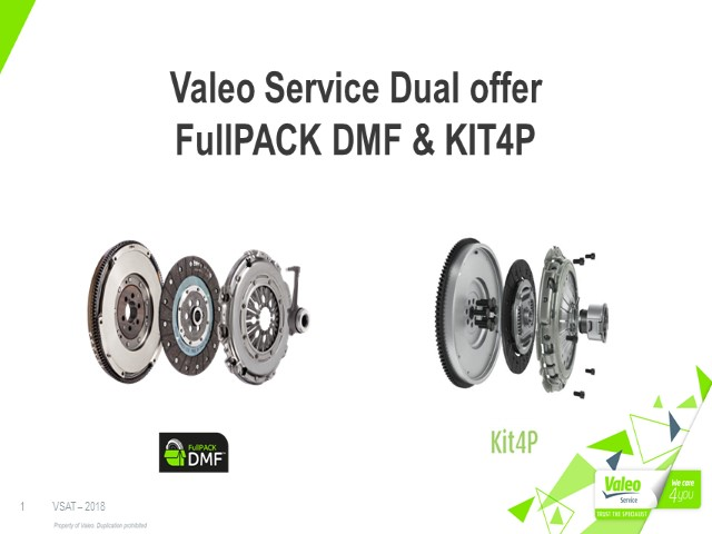 Valeo FullPACK DMF & Kit 4P