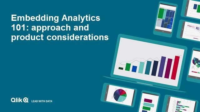Embedding Analytics 101